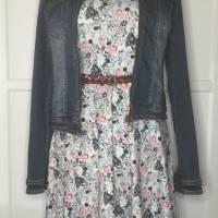 Kleid * Wunschgröße * Blumen Design Bild 8