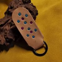 Schlüsselanhänger mit Intarsien (Int2)  Bild 2