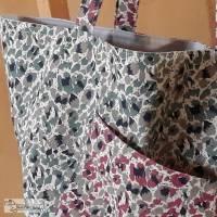 XXL-Shopper, Strandtasche, Einkaufstasche, Markttasche, Stoffbeutel, zum Wenden, Raumwunder, Schultertasche, viel Platz Bild 3