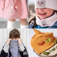 Kombi eBook - Handbesticktes Halstuch mit Blumen und Regenbogen - Schritt-für-Schritt zur ersten Stickerei Stickvorlage  Bild 5