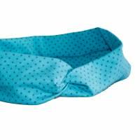 Turban Stirnbänder / Knotenhaarband Dots Kopfumfang 56 cm Bild 2