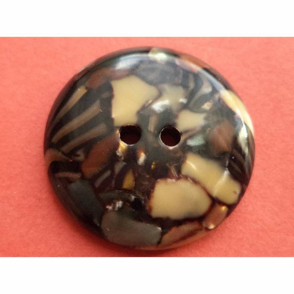 Knöpfe 23mm dunkelbraune (5958) Bild 1