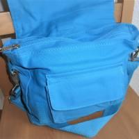 Kindertasche, Kinderrucksack, türkis, bestickt mit Wickinger, Umhängetasche, Kindergartentasche, Dieda Bild 5