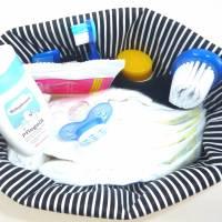 Kulturbeutel für Kinder, Kinder-Waschtasche, Windeltasche *Totenkopf* Bild 7