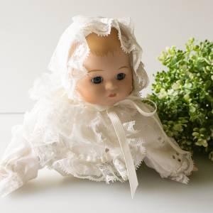 Baby-Puppe, Künstlerpuppe, von Bijou Brigitte, kleine Porzellan-Baby-Puppe Bild 1
