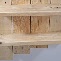 Wandregal aus Palette, Wohndeko, Wandschmuck, Palettenmöbel, einzigartig, Holz, Wohndeko, Holzregal, Palettenholz Regal, Bild 5