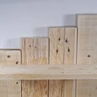 Wandregal aus Palette, Wohndeko, Wandschmuck, Palettenmöbel, einzigartig, Holz, Wohndeko, Holzregal, Palettenholz Regal, Bild 7
