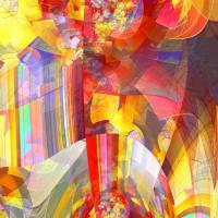 Die Lebensgeister wecken  - Digital-ART - Kunstwerk 2/10 – Design  Ulrike Kröll Bild 1