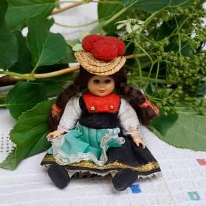 Trachtenpuppe aus dem Schwarzwald, für Sammler, ca. 11 cm, von eWerkVintage, Holzpuppen Bild 1