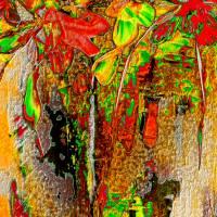 Blumen selbst gepflückt  - Digital-ART - Kunstwerk 1/10 – Design  Ulrike Kröll Bild 3