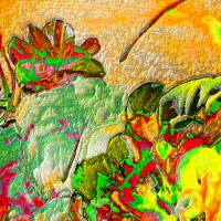 Blumen selbst gepflückt  - Digital-ART - Kunstwerk 1/10 – Design  Ulrike Kröll Bild 4