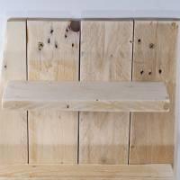 Wandregal aus Palette, Wohndeko, Wandschmuck, Palettenmöbel, einzigartig, Holz, Wohndeko, Holzregal, Palettenholz Regal, Bild 6