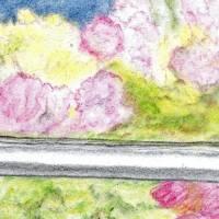 Portugiesischer Rotwein - Original Pastellkreidemalerei, gerahmt Bild 3