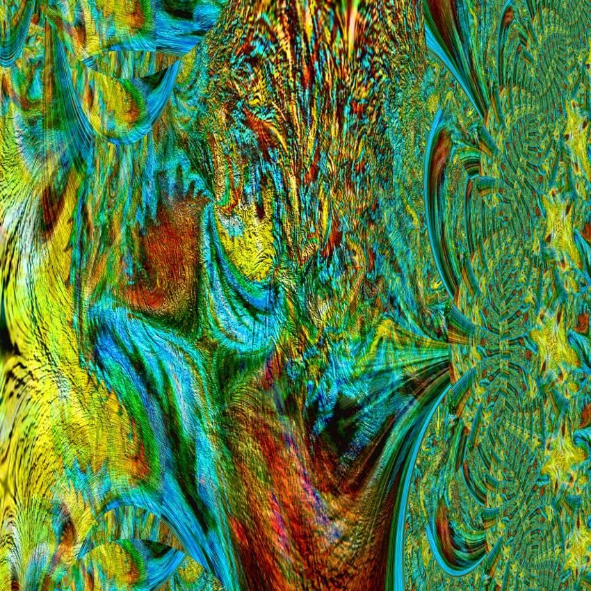 Frühlingserwachen - Digital-ART - Kunstwerk 1/10 – Design  Ulrike Kröll Bild 1