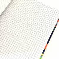 """Notizbuch Tagebuch A5 Hardcover stoffbezogen """"Summer Evening"""" Geschenk Geschenkidee Geschenkartikel Bild 5"""