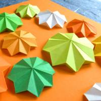 Flowerpower // Origami-Wandbild im Objektrahmen Bild 4