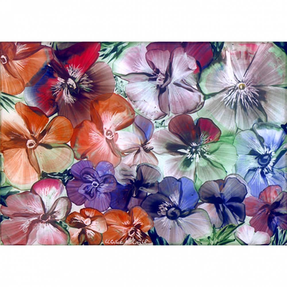 """Kunst–Postkarte - """"Sommerblüten""""  Bild 1"""