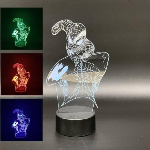 "LED Leuchte ""Spiderman"" ca.26cm x 14cm"