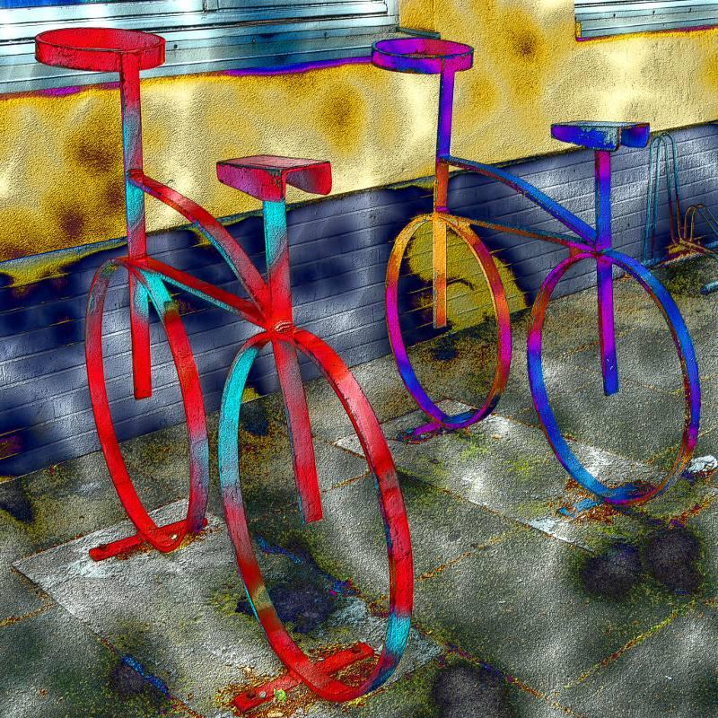 Bicycles - Digital-ART - Kunstwerk 2/10 Bild 1