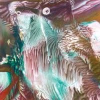 Ein Vogelpärchen – Original Encausticmalerei, gerahmt Bild 3