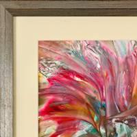 Ein Vogelpärchen – Original Encausticmalerei, gerahmt Bild 5