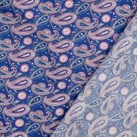 Baumwolle Baumwollstoff Popeline  Paisley Oeko-Tex Standard 100 (1m /10,-€) Bild 2