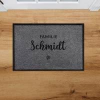 Outdoor Fußmatte Familie • Rutschfest & Waschbar • Personalisiert mit Familienname o. Wunschtext Bild 3