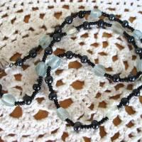 Vintage Halskette - Black & Grey - aus den 80er Jahren Bild 3