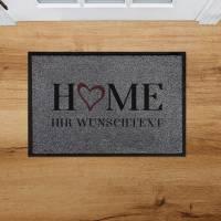 Outdoor Fußmatte Family Home • Rutschfest & Waschbar • Personalisiert mit Familienname o. Wunschtext Bild 3