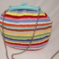 Bügeltasche MULTICOLOR / Handtasche / Schultertasche Bild 1