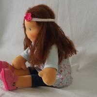 """""""Amelie"""" Handgefertigte Puppe nach Waldorfart aus natürlichen Materialien  Bild 1"""