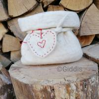 Geschenkverpackung Filzsäckchen, Utensilo Bild 1