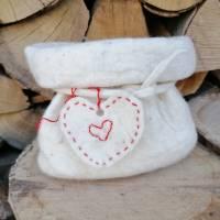 Geschenkverpackung Filzsäckchen, Utensilo Bild 2