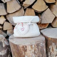 Geschenkverpackung Filzsäckchen, Utensilo Bild 3
