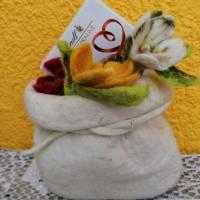 Geschenkverpackung Filzsäckchen, Utensilo Bild 5