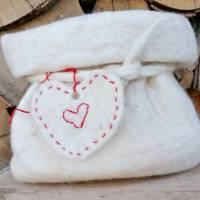 Geschenkverpackung Filzsäckchen, Utensilo Bild 9