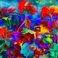 Glücksbringer - Digital-ART - Kunstwerk 1/10 – Design  Ulrike Kröll Bild 1