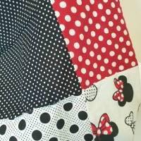 TaBo Loop Baumwolle  rot/schwarz/weiß Dots Maus Frühjahr/Sommer Bild 10