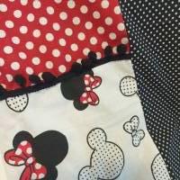 TaBo Loop Baumwolle  rot/schwarz/weiß Dots Maus Frühjahr/Sommer Bild 9
