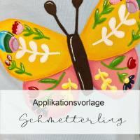 Applikationsvorlage SCHMETTERLING Bild 1