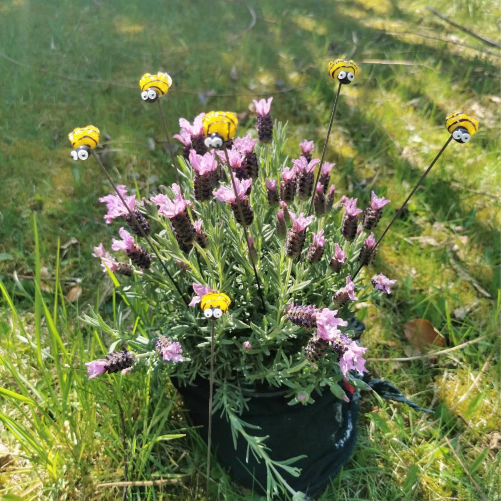 Blumenstecker SummSummBienchen Bild 1