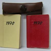Konvolut Puppentaschen,Schultaschen,Kalender 1970,Federtasche - DDR 1969 Bild 4