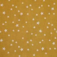 4 x 0,5m Stoffpaket, süße Schnecken, Sterne, Pünktchen petrol gelb Bild 9