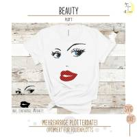 Beauty Plotterdatei Bild 1