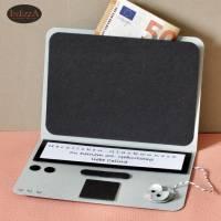 Geldgeschenk Mini Laptop Karte Notebook PC für alle Anlässe Gutschein Computer individualisierbar Bild 2