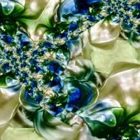 Blütentraum - Digital-ART - Kunstwerk 1/10 – Design  Ulrike Kröll Bild 1
