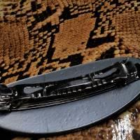 Haarspange Rohling mit Platte Bild 2