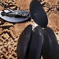 Haarspange Rohling mit Platte Bild 3