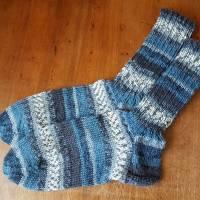 Socken Größe 36/37, liebevoll handgestrickt, Bild 1