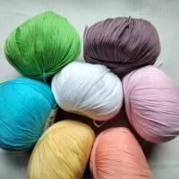 50g Lang Yarns Baby Cotton, Fb1, weiß, Baumwolle, biologischer Anbau, LL 180m Bild 4